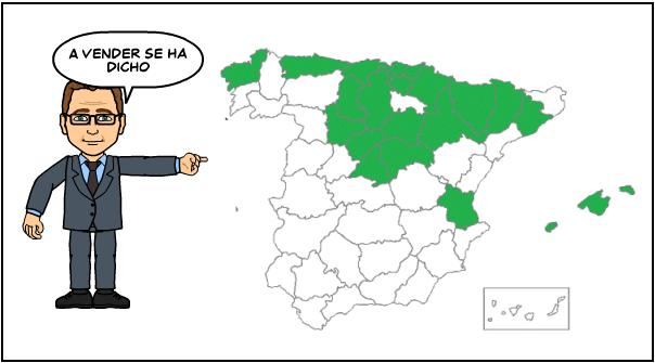 La Recuperación inmobiliaria en 20 provincias Españolas